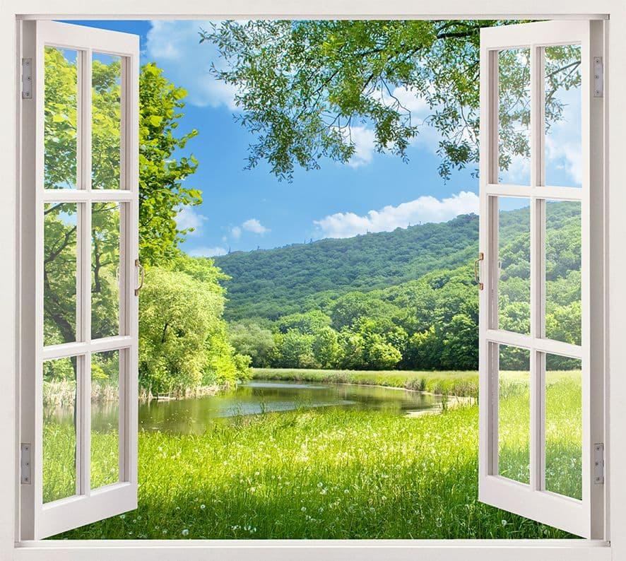 картинки вид из окна или веранды так же, как